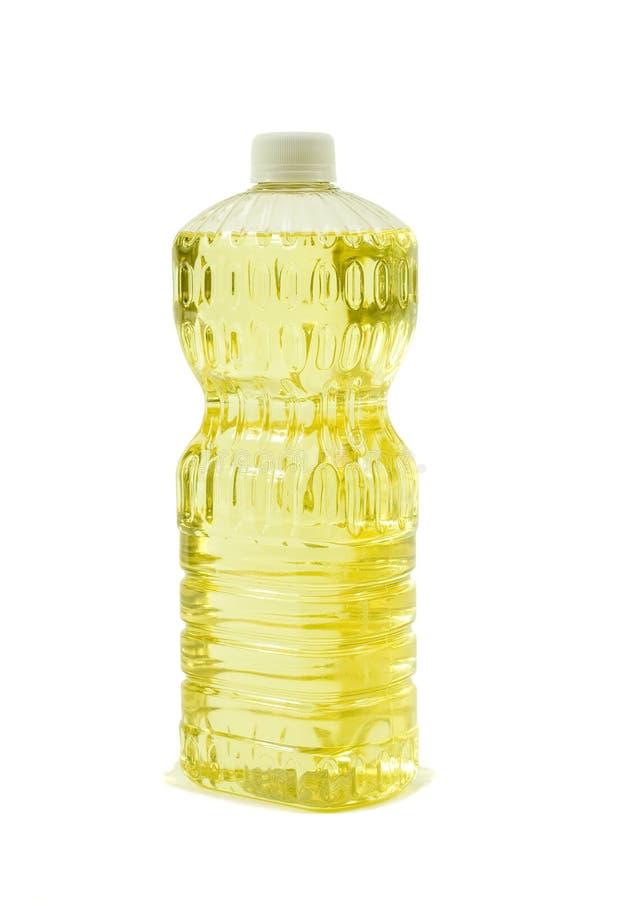 Zuivere Plantaardige olie; De Mening van de hoek stock foto