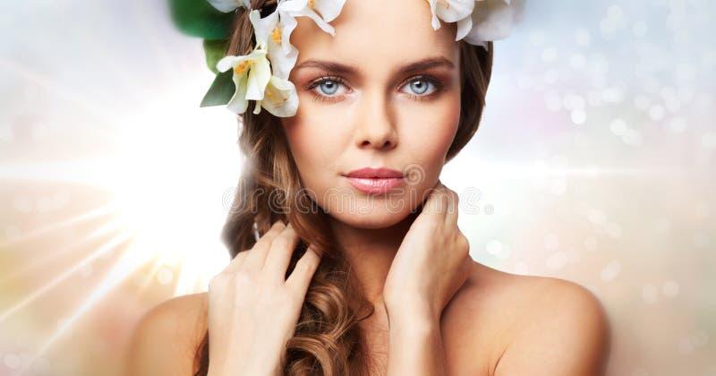Zuivere schoonheid royalty-vrije stock afbeelding