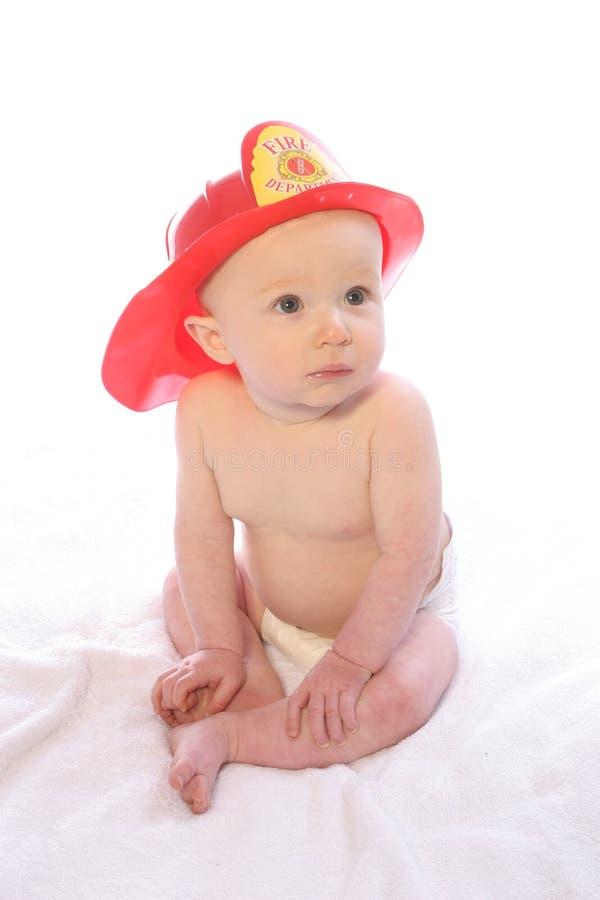 Zukünftiger Feuerwehrmann 2 stockfotografie