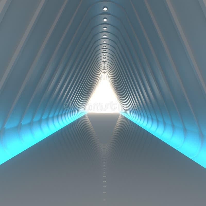 Zukünftiger leerer Raum vektor abbildung