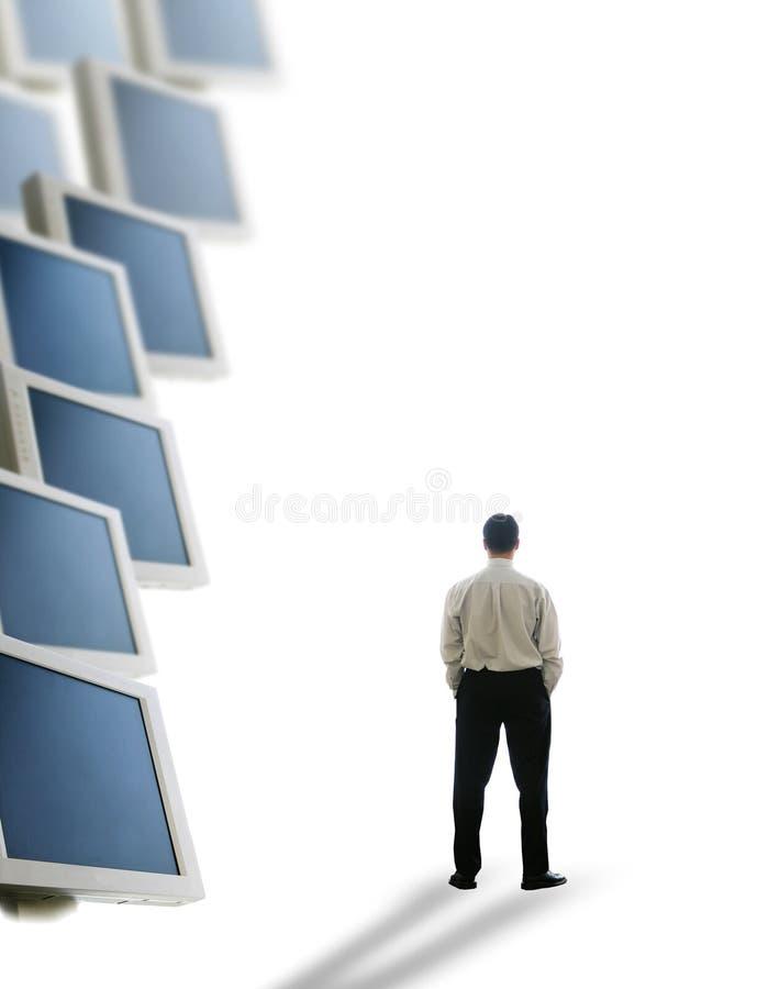 Zukünftiges Geschäft stockfotografie