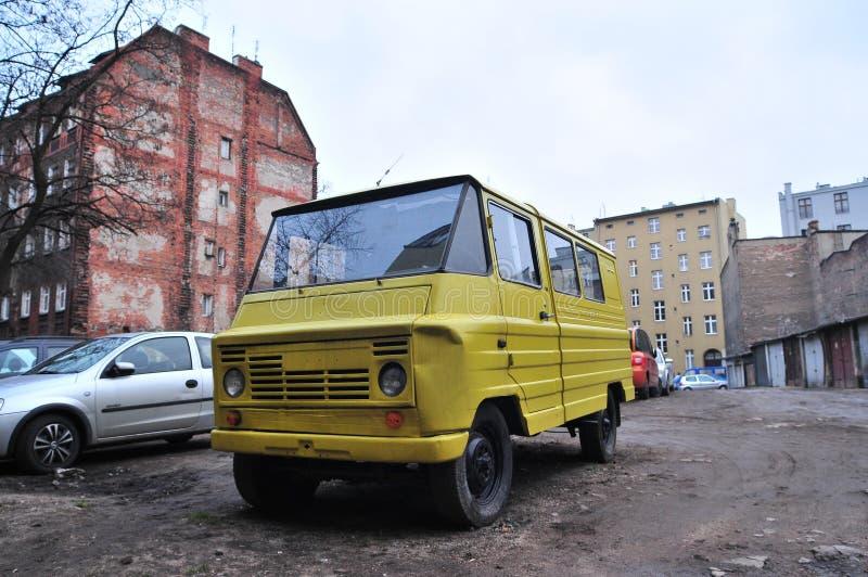 ZUK, fourgon classique polonais de PRL photo stock