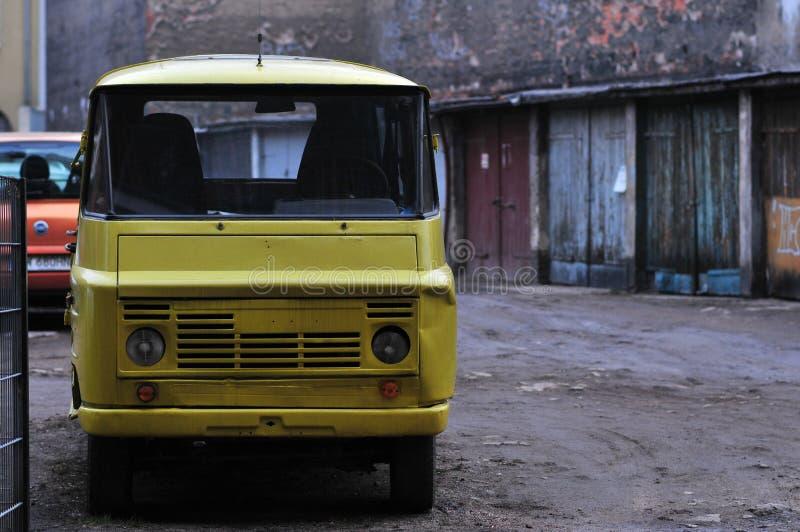 ZUK, furgoneta clásica polaca de PRL fotos de archivo libres de regalías