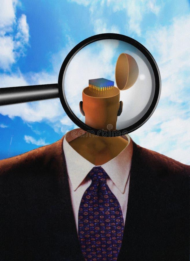 Zukunft Von Psychologie Lizenzfreies Stockfoto