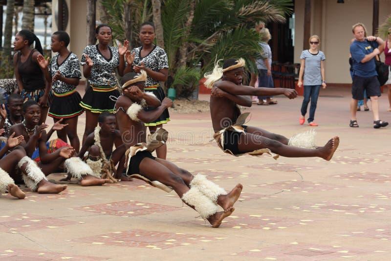 zulu танцоров стоковые фото