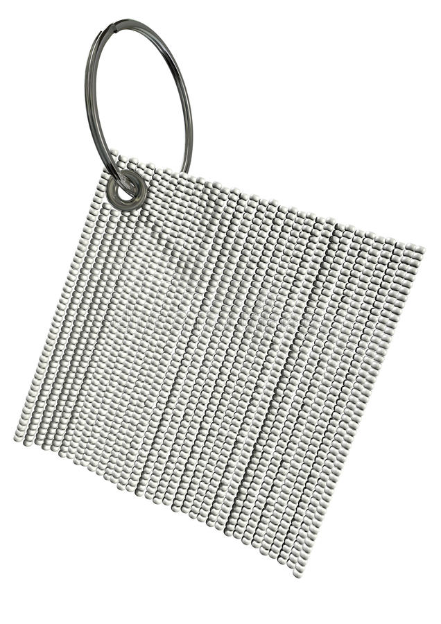 Zulu Bead Key Ring illustration de vecteur