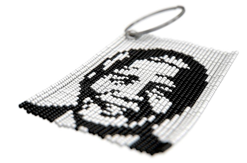 Zulu Bead Keyring illustration stock