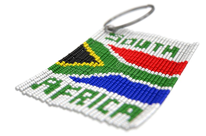 Zulu Bead Keyring illustration libre de droits