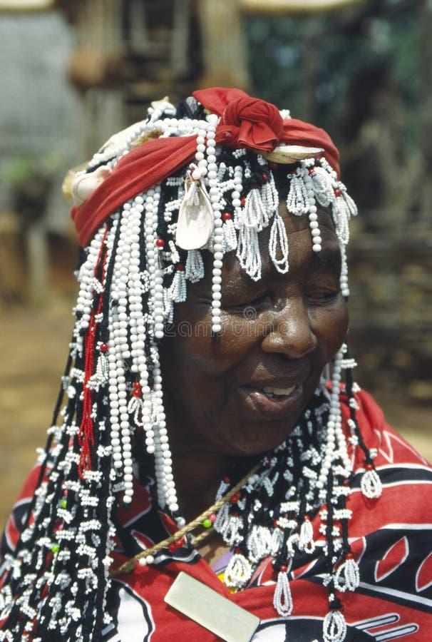 Zulu mama royalty free stock photography