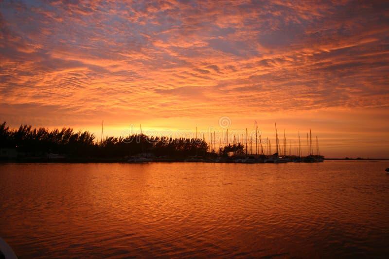 Zululand Sonnenaufgang Lizenzfreie Stockbilder