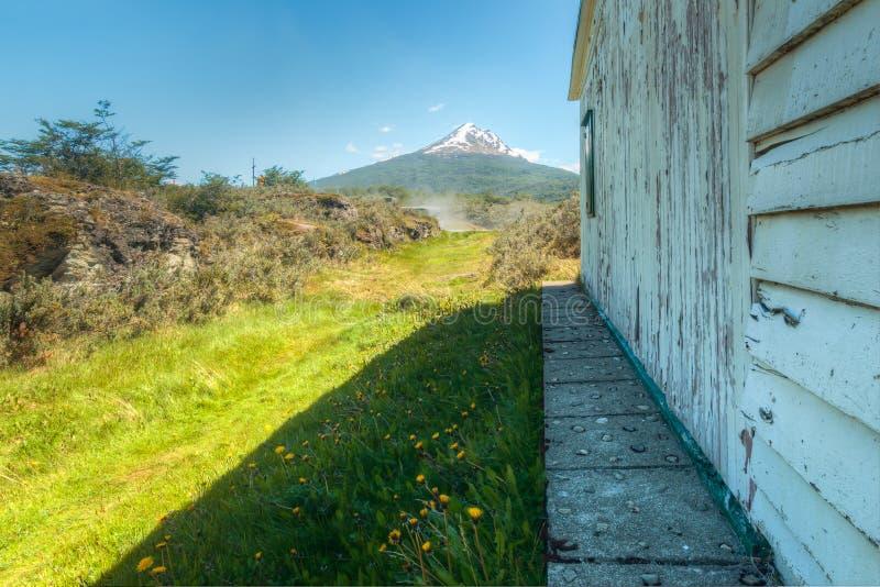 Zum Berg stockfoto