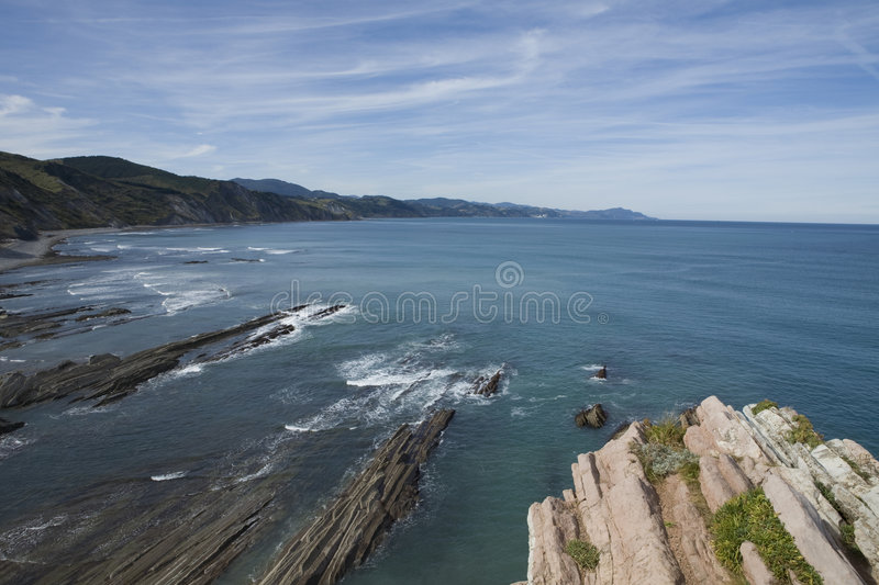 Download Zumaia stock photo. Image of earth, dirt, hillside, ancient - 7585614