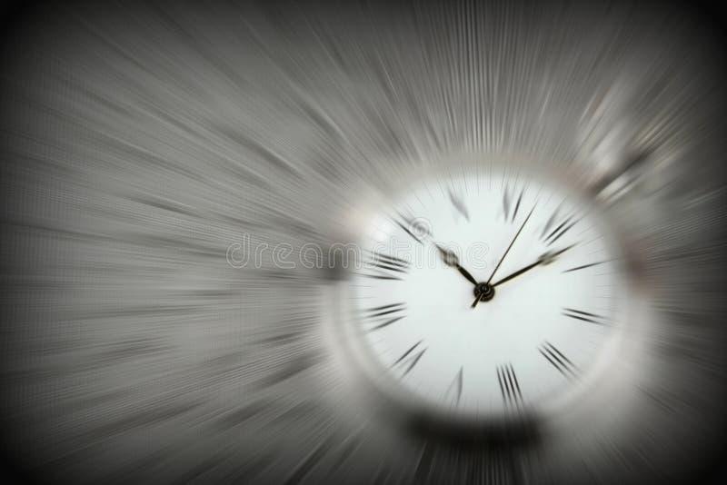 Zumando in tempo fotografia stock
