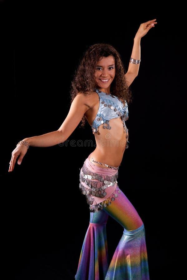 zumba учителя танцульки costume стоковые изображения rf