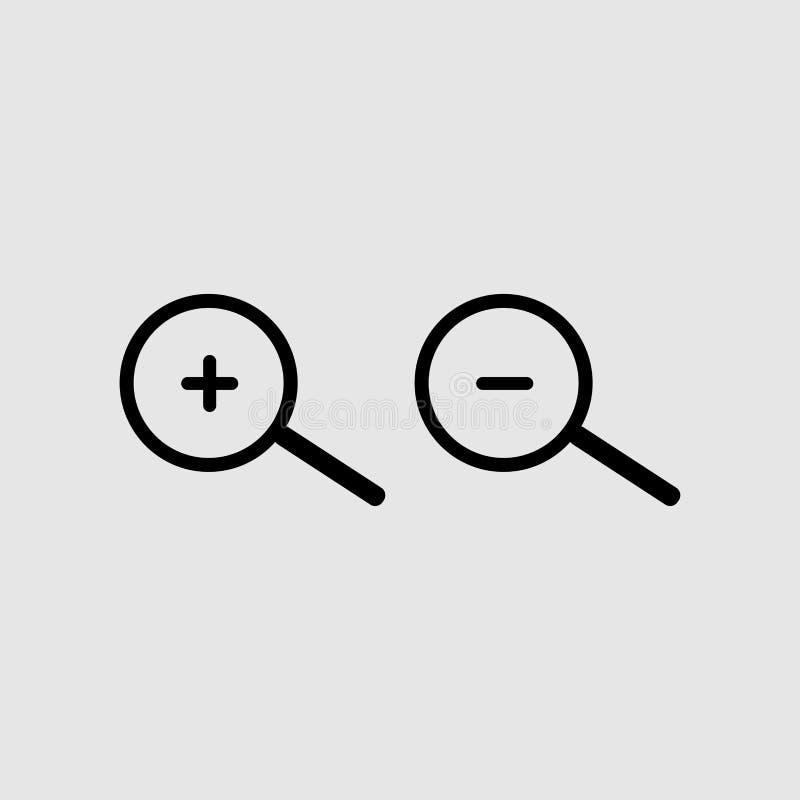 zumba dentro e zumba para fora ícone ilustração stock