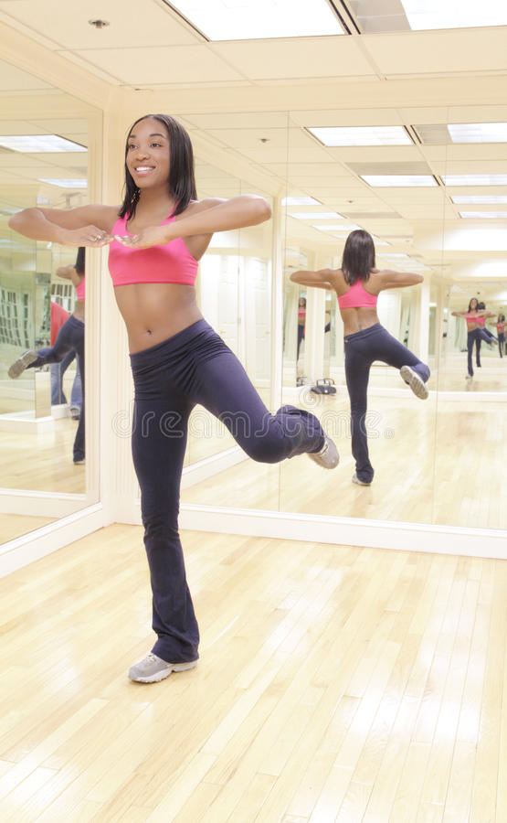 Zumba Fitness Instructor stock photo