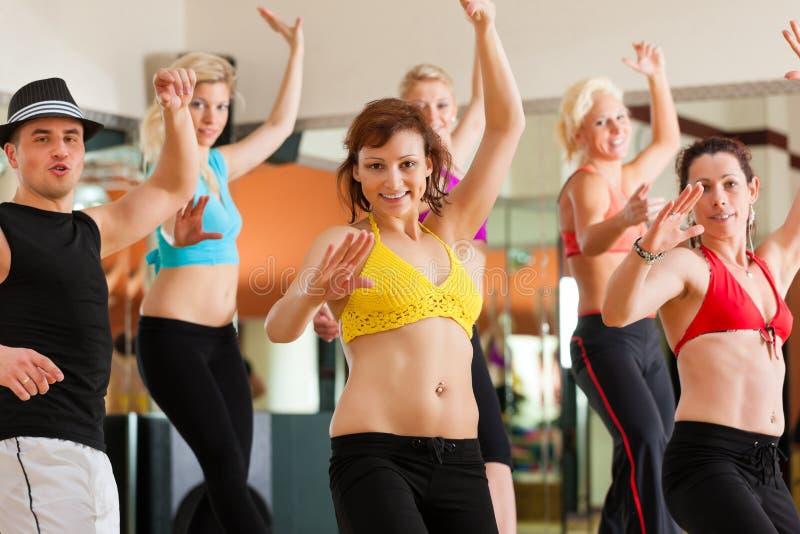 Download Zumba Or Jazzdance - People Dancing In Studio Stock Photo - Image: 26622322