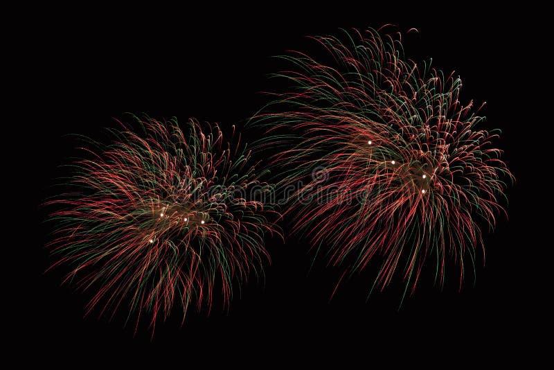 Zummi la manifestazione dei fuochi d'artificio immagini stock