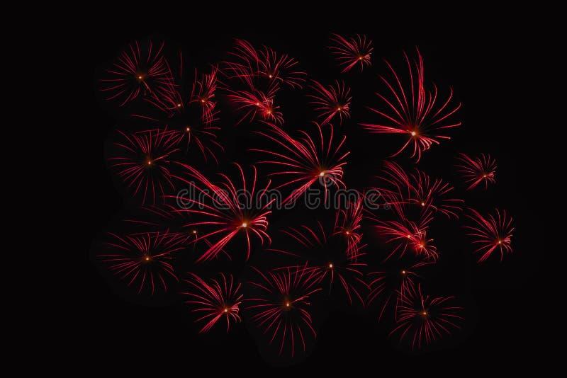 Zummi la manifestazione dei fuochi d'artificio fotografie stock