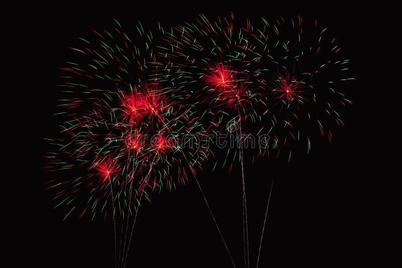Zummi la manifestazione dei fuochi d'artificio immagine stock