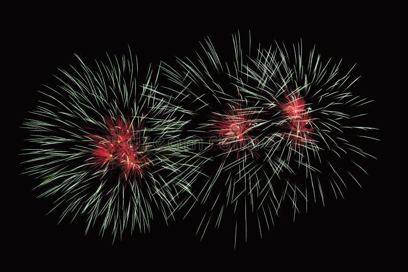Zummi la manifestazione dei fuochi d'artificio fotografia stock libera da diritti