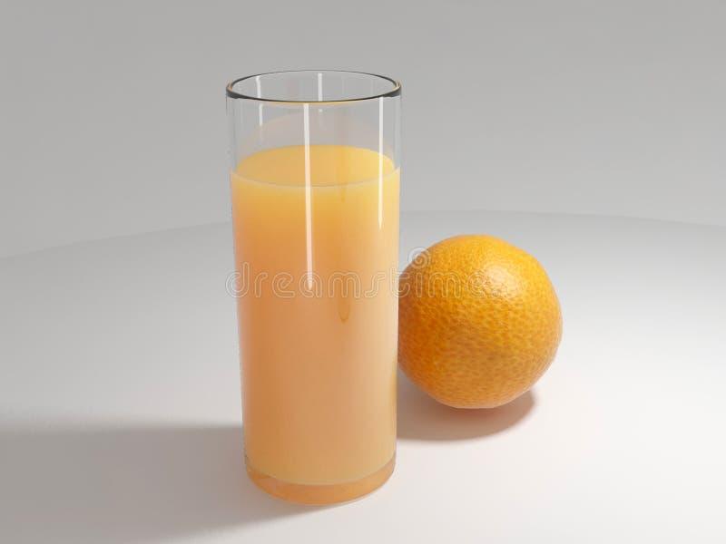 Zumo anaranjado y de naranja imágenes de archivo libres de regalías