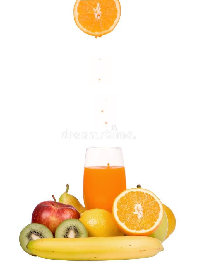 Zumo de fruta mezclado fotos de archivo