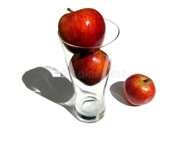 Zumo de manzana imagen de archivo
