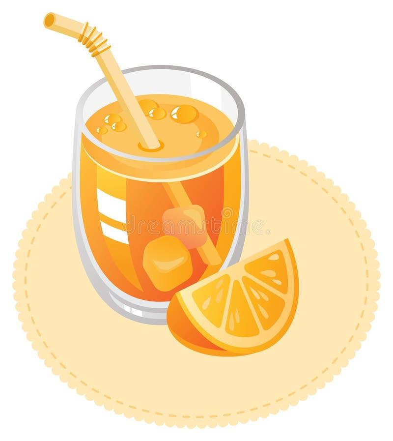 Zumo de naranja libre illustration