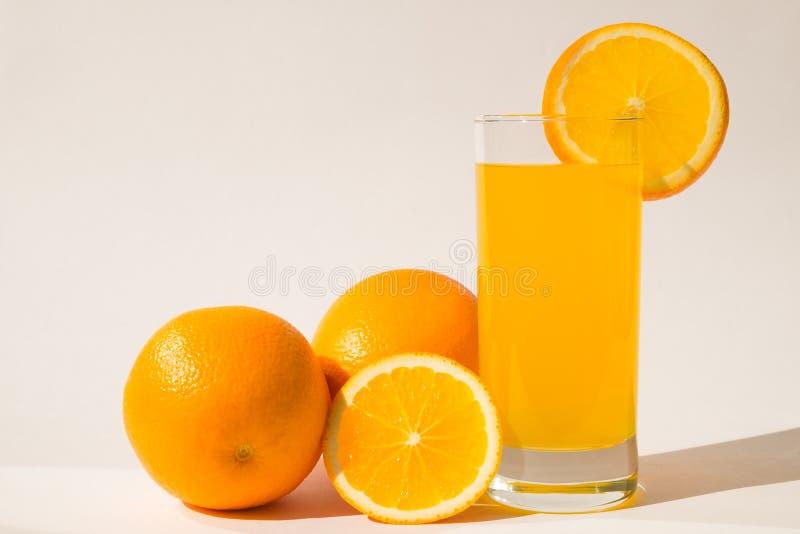 Zumo de naranja imagen de archivo libre de regalías