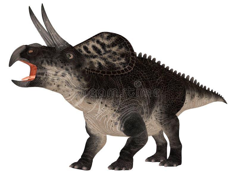 Zuniceratops illustration libre de droits