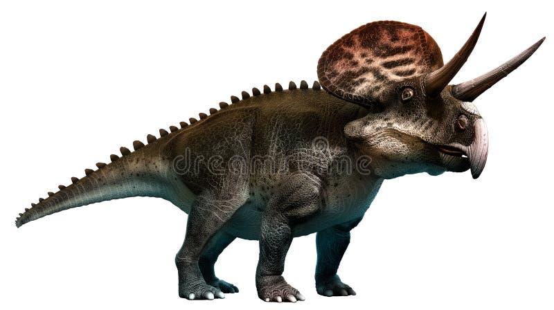 Zuniceratops ilustración del vector