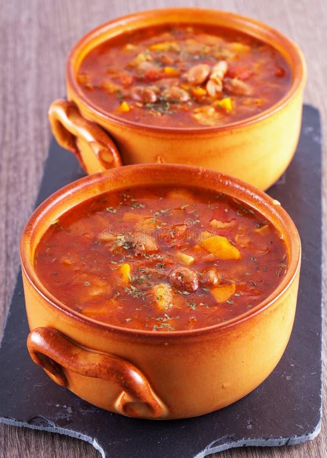 zupa zdjęcie stock