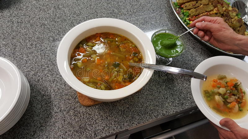 zupa fotografia stock