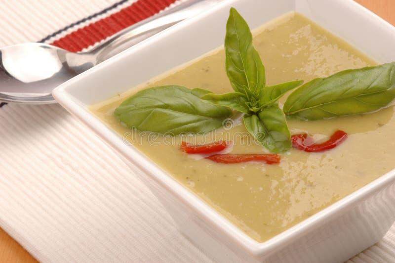 zupa szparagowa obraz stock
