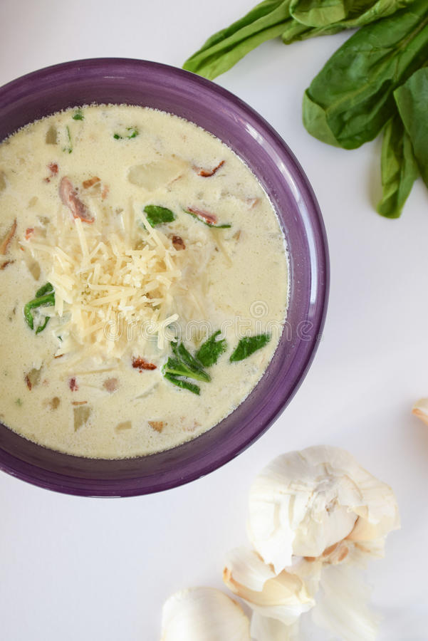 Zupa Toscana fotografie stock libere da diritti