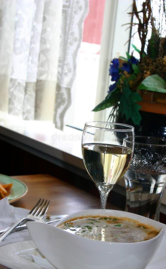 Download Zupa winorośli zdjęcie stock. Obraz złożonej z biały, dinner - 35612