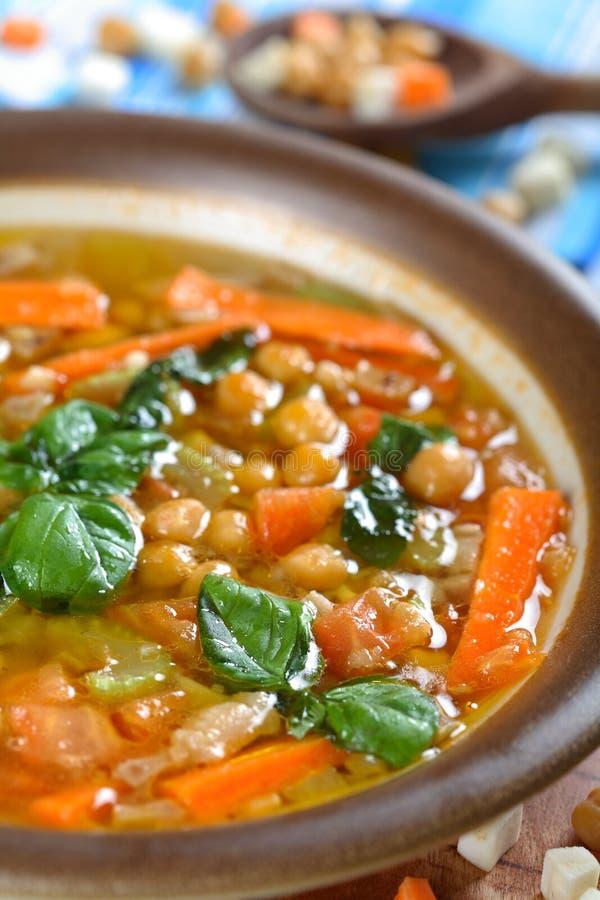 zupa z groszku obrazy stock