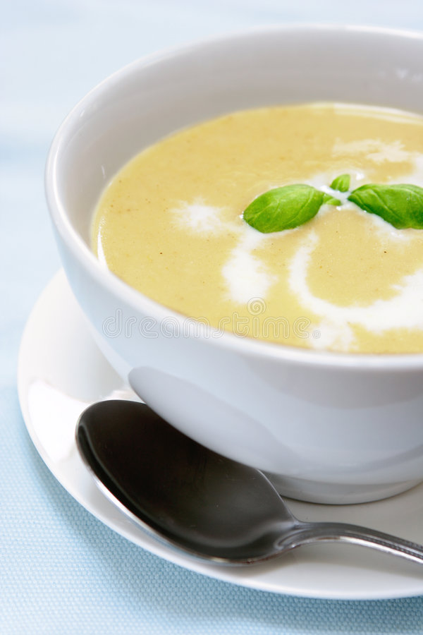 zupa ziemniaczana butternut zdjęcia royalty free