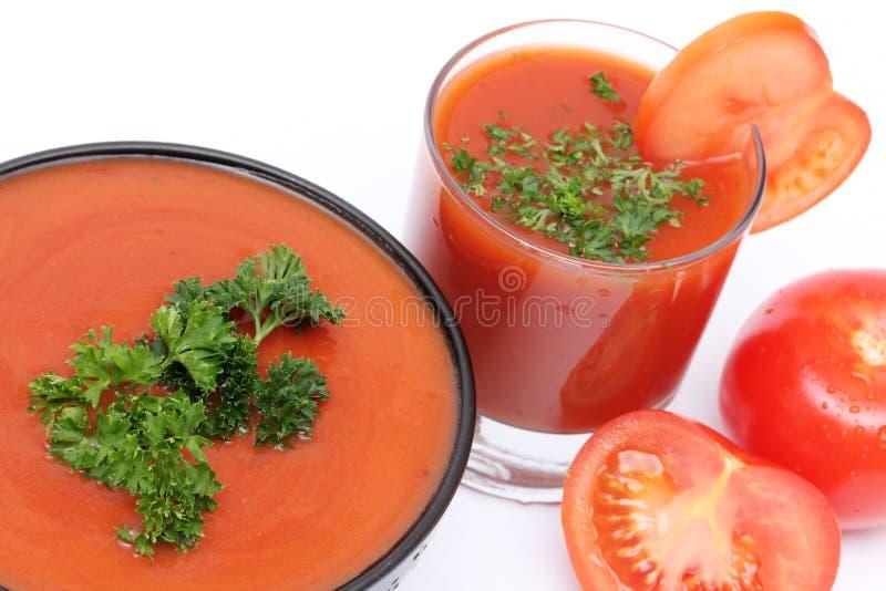 zupny pomidor obraz stock