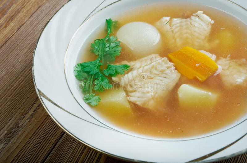 Zuppa di pesce fotos de stock