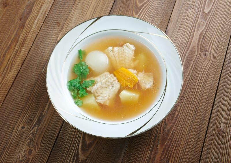Zuppa di pesce imagens de stock