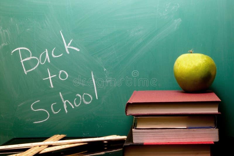 Zurück zu Schule stockbild