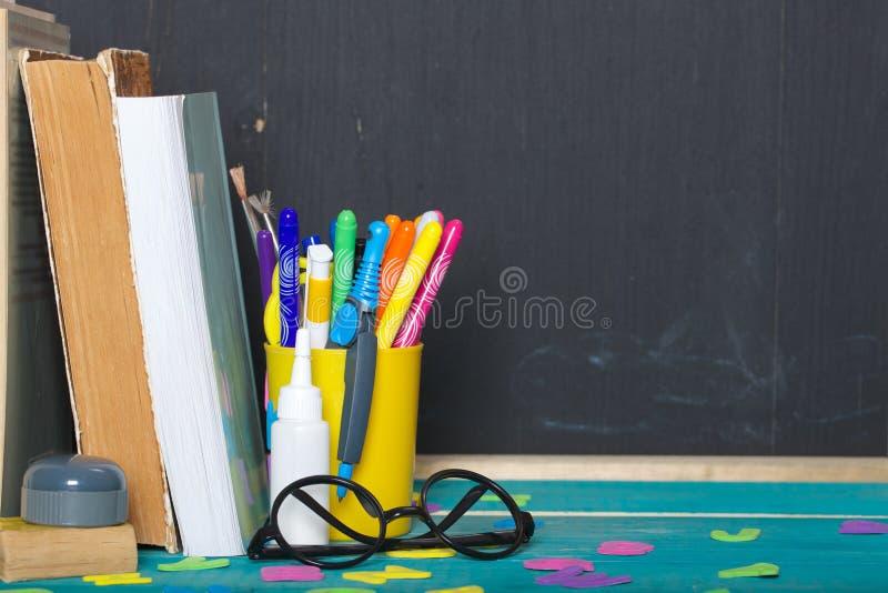 Zurück zu Schule-Hintergrund (EPS+JPG) nahaufnahme lizenzfreies stockfoto