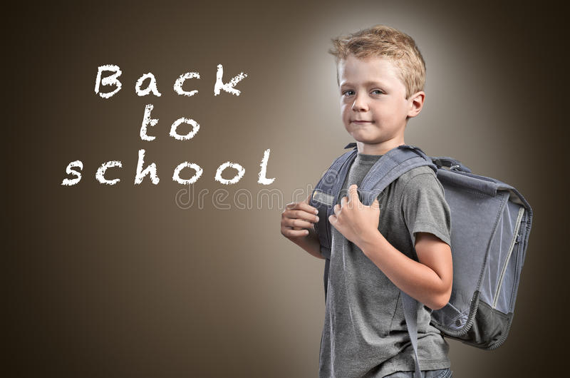 Zurück zu Schule-Konzept lizenzfreies stockbild