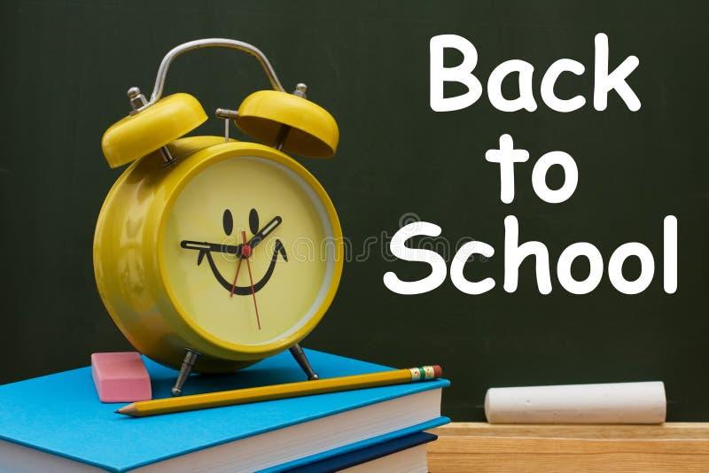 Zurück zu Schule-Zeit lizenzfreie stockfotografie