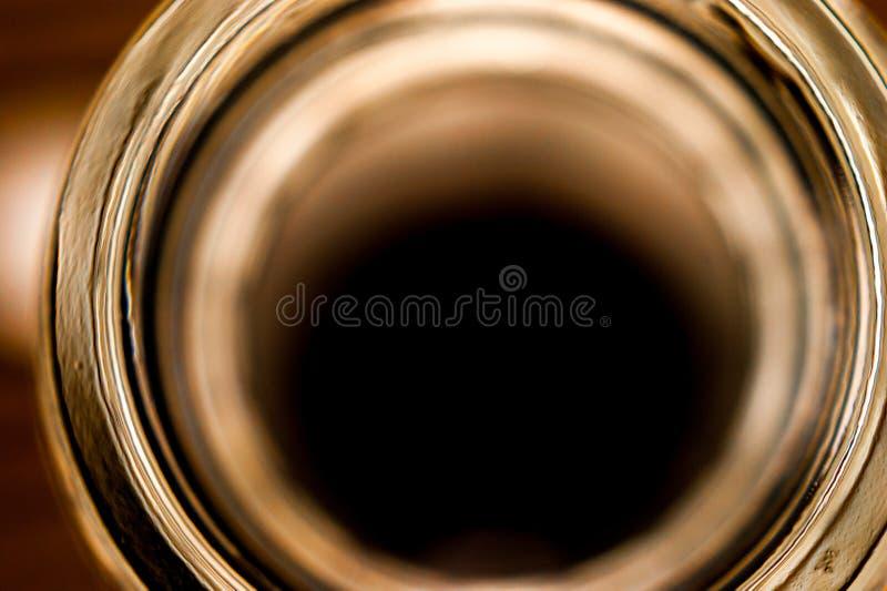 Zurückhaltendes Makrobild einer Draufsicht des Whiskyengpasses stockbilder
