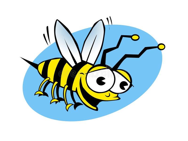 Zur Biene oder nicht zur Biene lizenzfreie stockfotos