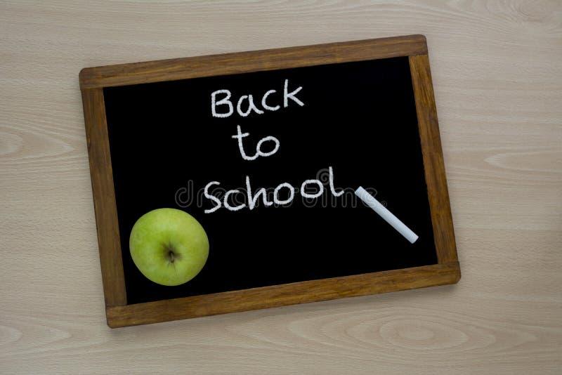 Zur?ck zu Schule-Konzept stockbild