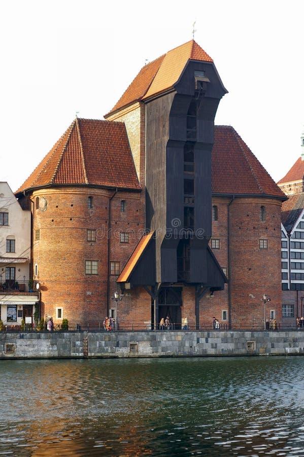 zuraw gdansk Польши стоковое изображение rf